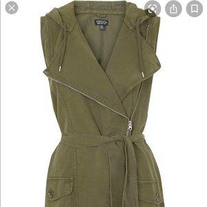 TOPSHOP Army utility vest